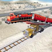 Train Jump Impossible Mega Ramp