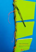 Photo: IÑAKI 1971-2014 Barcelona Tokio - LLibre homenatge del Koal'as Team, disseny de Ferran Cerdans Serra de Llibres Artesans · Fem els llibres del futur: relats breus, aforismes i poemes escrits a mà