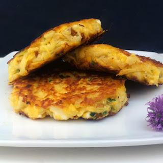 Swede and Feta Fritters [Vegetarian] Recipe