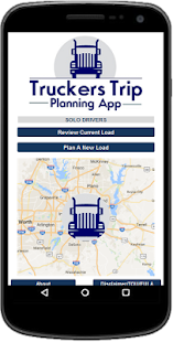 Truckers Trip Planning App (Solo Drivers) - náhled
