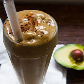 Chocolate Almond Avocado Smoothie