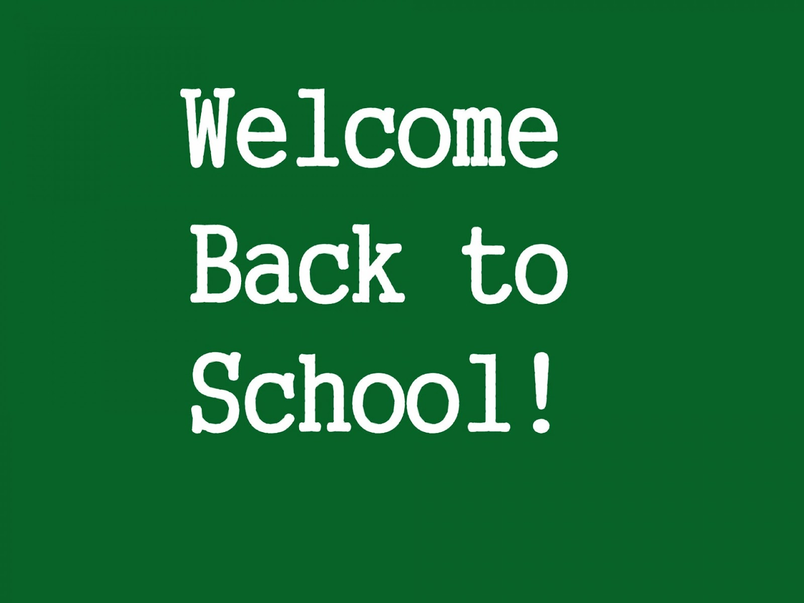 Welcome Back To School Free Stock Photo - Public Domain Pictures