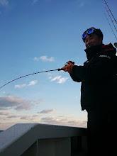 """Photo: 根魚大好き!インチク大好き!の""""モリスギさん""""! いい笑顔です!"""