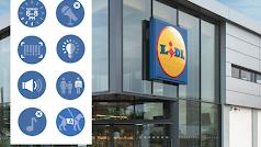 Imagen de la campaña Autism Aware en las tiendas Lidl en Irlanda.