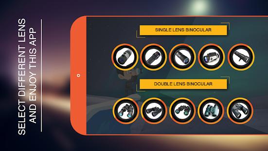 Mega Zoom Binoculars App - náhled