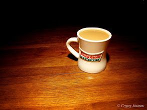 Photo: January 20, 2012 - Krispy Coffee #creative366project ...only missing the doughnuts