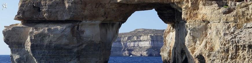 Photo: Blue Window en Isla de Gozo. Malta