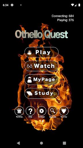 Othello Quest (former Reversi Wars) - live online 1.8 de.gamequotes.net 1