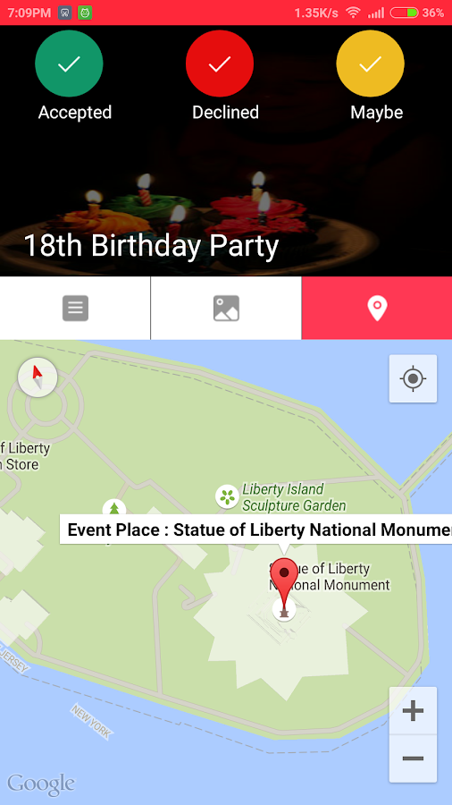 Birthday Invite Card With RSVP Android Apps On Google Play - Birthday invitation card rsvp