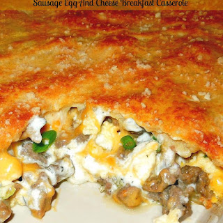 Sausage Egg Croissant Breakfast Casserole Recipes.