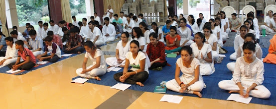 Photo: Students attending class