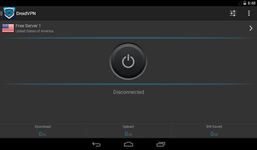DroidVPN - Android VPN screenshot 6