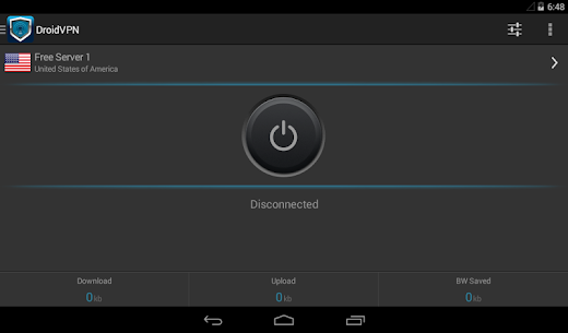 DroidVPN – Easy Android VPN App Download For Android 6