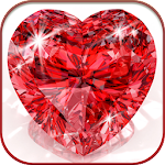 HD DiamondHeart Live Wallpaper Icon