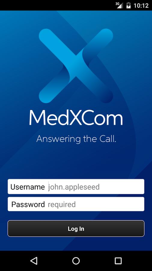 MedXCom for Physicians- screenshot