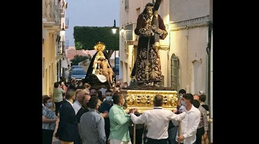 """""""No cabía en furgoneta"""": el traslado del Nazareno se hizo sin autorización"""