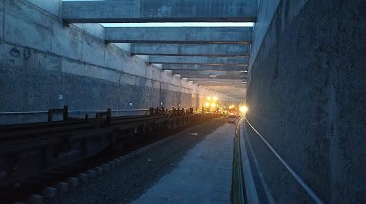 Obras para la llegada del AVE en la capital.