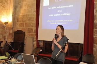 Photo: Catherine Daoud (Présidente CISIC)