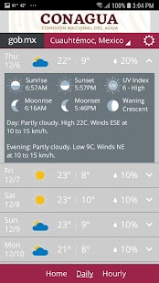 MeteoInfo Screenshot