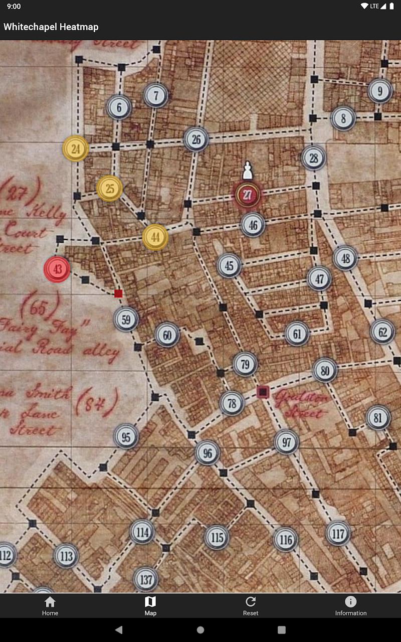Whitechapel Heatmap Screenshot 7