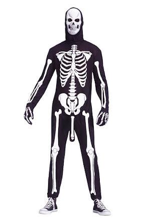 Dräkt, Skelett med penis