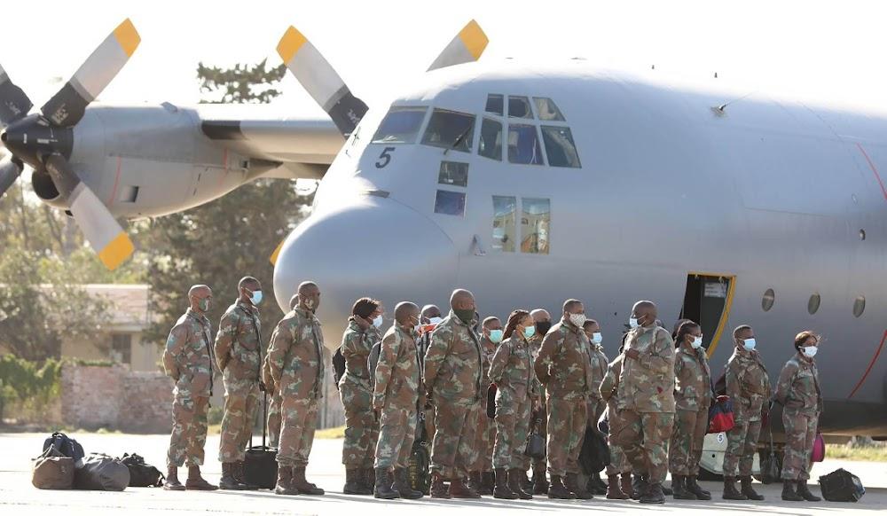 SANDF nurses, doctors arrive in Eastern Cape to bolster Covid-19 fight - SowetanLIVE