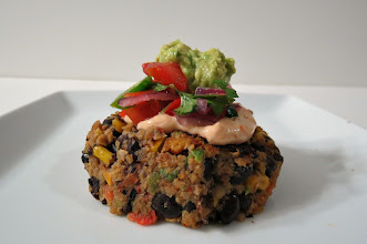 Photo: Spicy Black Bean Burgers - A spicy, vegetarian black bean burger full made with corn, sweet bell pepper and a dash of cumin.  http://www.peanutbutterandpeppers.com/2013/01/19/black-burgers-again-weekly-recap/  #blackbeans   #vegetarian   #burger   #beans   #blackbeanburger