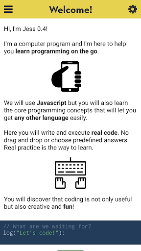 Jess app - Learn JavaScript