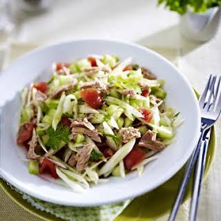 Fennel Salad with Tuna.