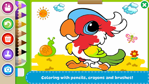 Coloring Book - Kids Paint screenshot 1