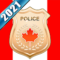 Canada Police Scanner Radio Pro icon