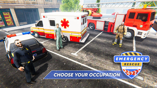 Emergency Rescue Service- Police, Firefighter, Ems 1.2 screenshots 1