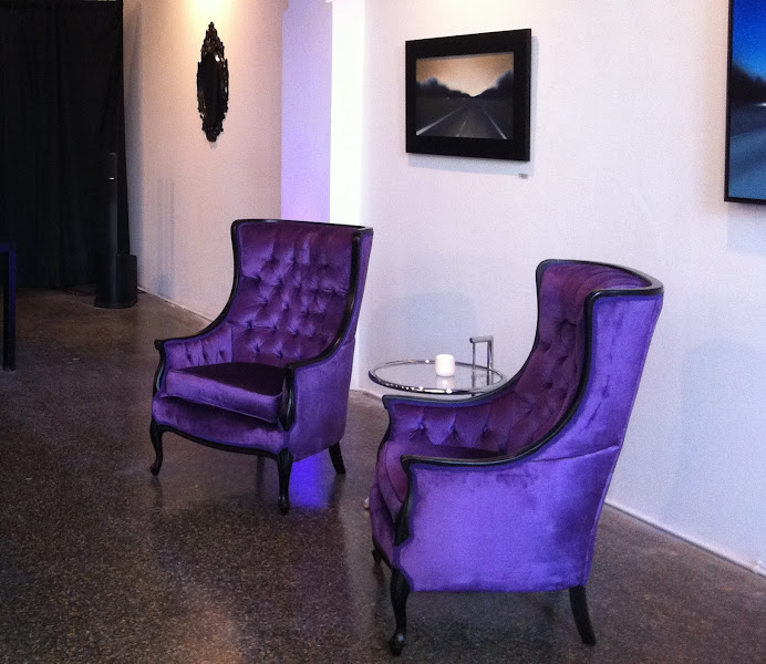 Photo: Nothing says comfort & style like the Veronica Lounge Chairs... Perfect for the Infiniti Media Hospitality Lounge by George P. Johnson Experience Marketing.