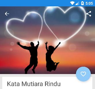 Kata Kata Rindu Romantis Spesial - náhled