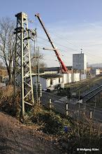 Photo: Auf dem Gelände des Abstellbahnhofs