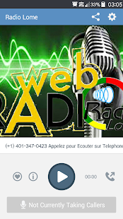 Radio Lomé App- screenshot thumbnail
