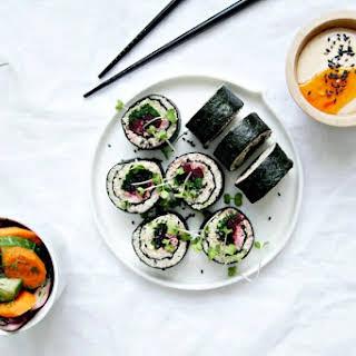 Cauli-Rice Sushi Rolls.