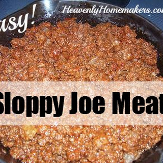 Yummy and EASY Sloppy Joes