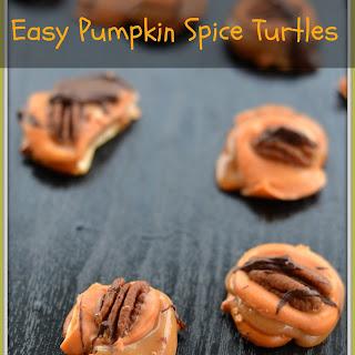 Easy Pumpkin Spice Turtle