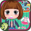 Bella back to school - girl school simulation game icon
