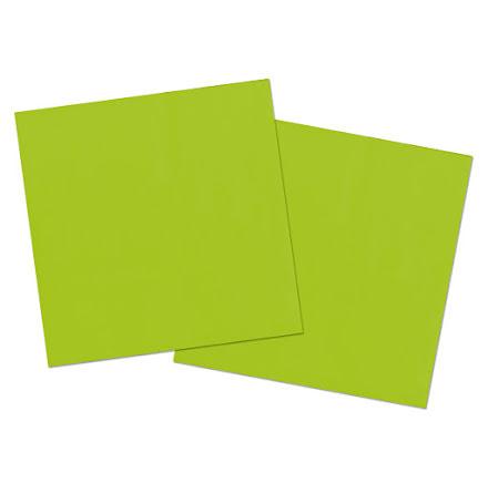 Servetter, grön, 20st