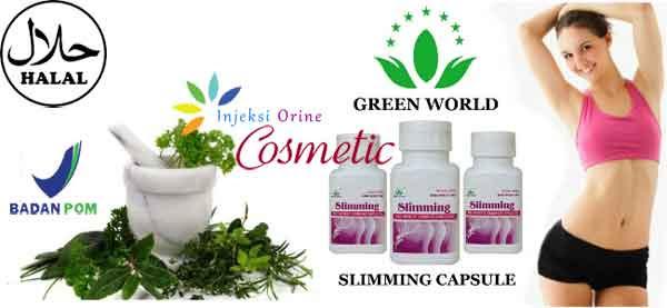 Slimming Capsule  -Obat Pelangsing Alami Aman BPOM