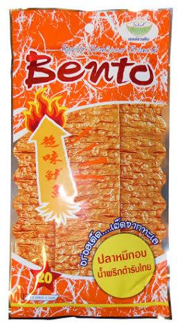Bento Squid Snack Chili Orange 20 g