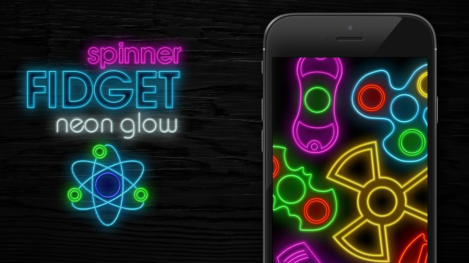 Fidget Spinner Neon Glow Android Apps On Google Play