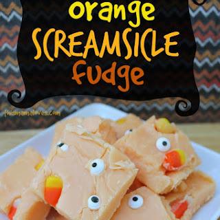 Orange Screamsicle Fudge.