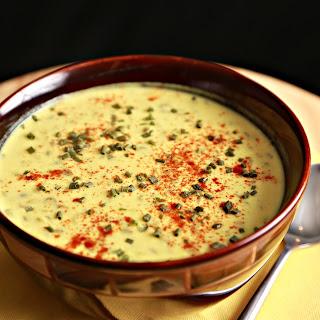Lentils With Yogurt Soup