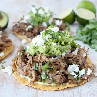 Slow Cooker Carnitas Tostadas