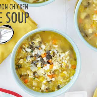 Slow Cooker Chicken Artichoke Soup.