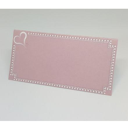 Placeringskort - Minna rosa