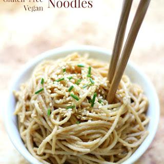 Cold Sesame Peanut Noodles (Gluten-Free, Vegan) Recipe